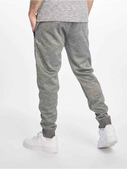 Southpole joggingbroek Zipper Pocket Marled Tech grijs