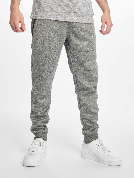 Southpole joggingbroek Zipper Pocket Marled Tech grijs