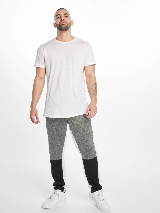 Southpole Joggingbukser Color Block Marled sort