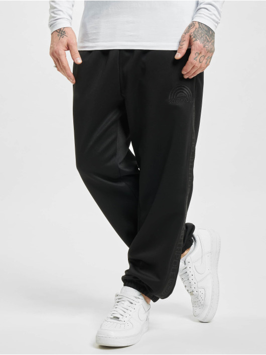 Southpole Joggingbyxor Tricot With Tape svart