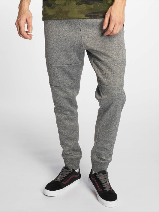 Southpole Jogginghose Marled Tech Fleece grau