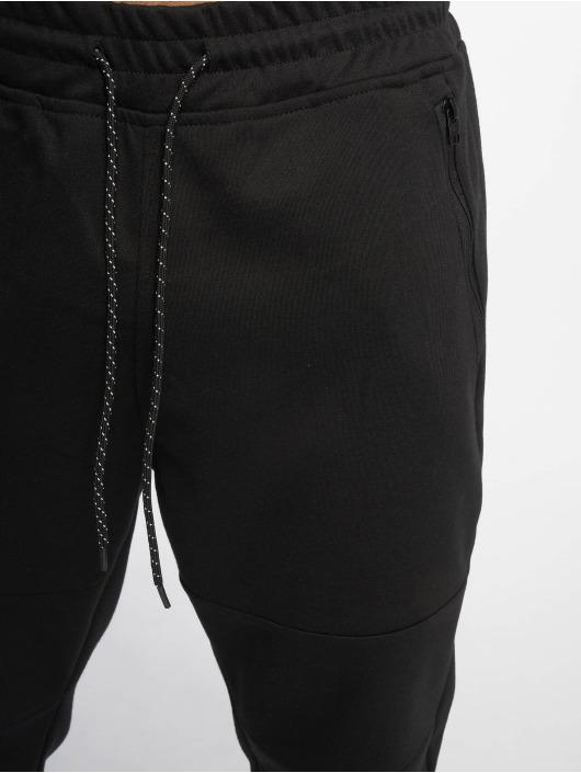 Southpole Jogginghose Marled Tech Fleece schwarz