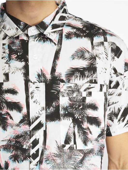Southpole Košele Palm Tree Box Print biela
