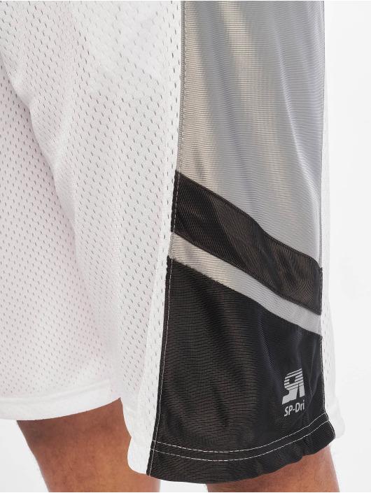 Southpole Koripalloshortsit Basketball Mesh valkoinen