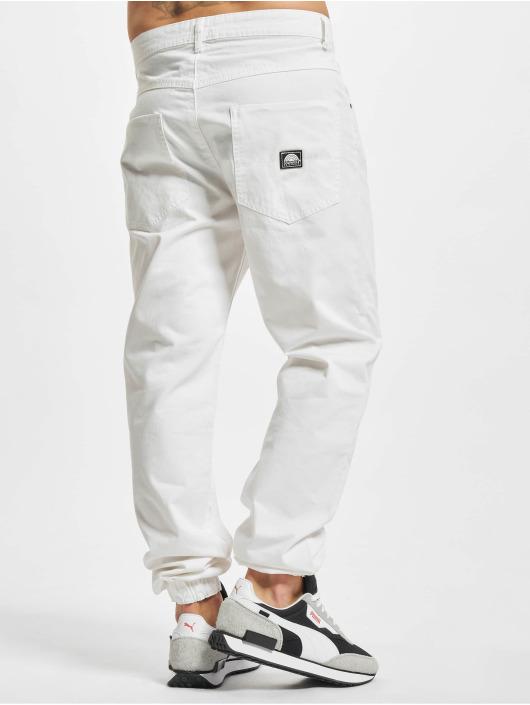 Southpole Látkové kalhoty Twill bílý