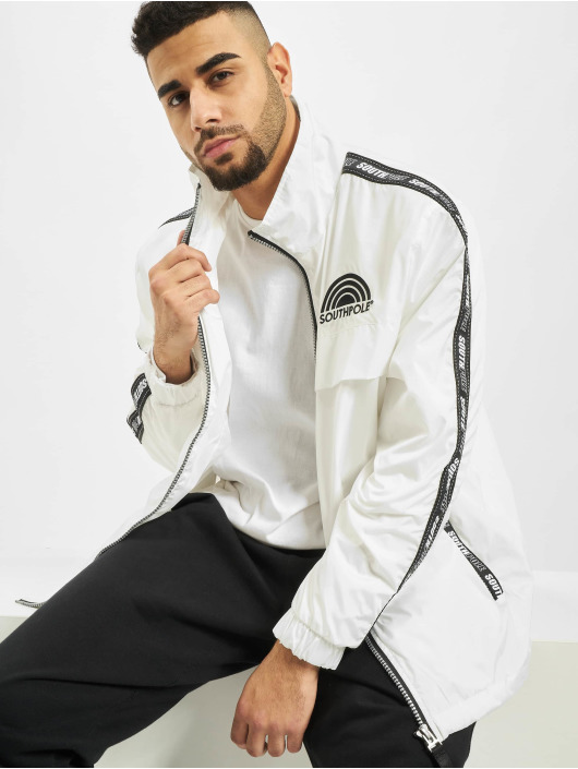 Southpole Lightweight Jacket Logo white