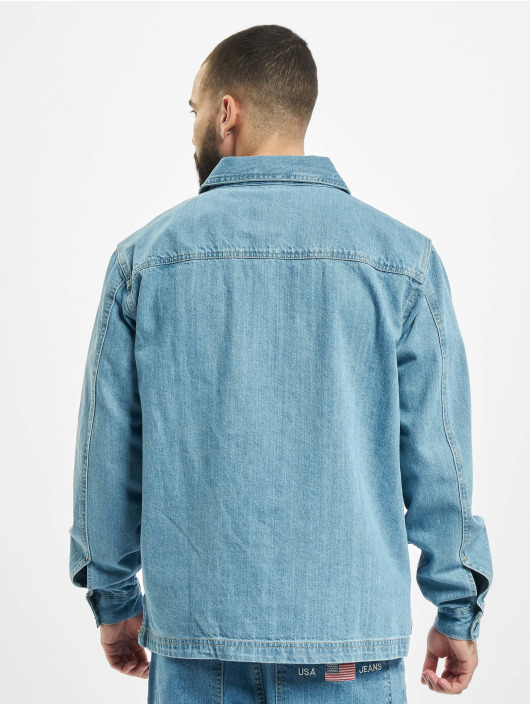 Southpole overhemd Denim blauw