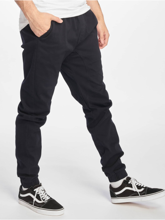 Southpole Pantalon chino Stretch bleu