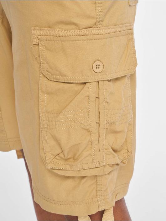 Southpole Pantalón cortos Jogger Cargo Fine Twill caqui