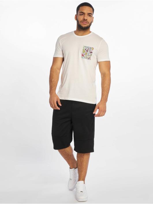 Southpole Pantalón cortos Tech Fleece Uni negro
