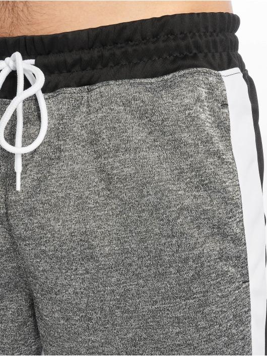 Southpole Pantalón deportivo Color Block Marled negro