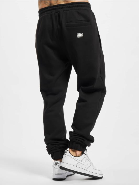 Southpole Pantalón deportivo Basic negro