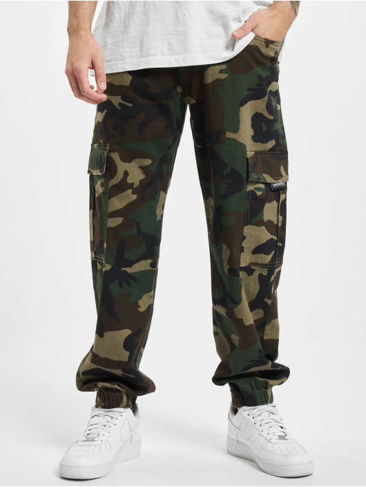 Southpole Pantalone Cargo Camo mimetico