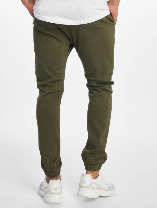 Southpole Pantalone chino Stretch oliva