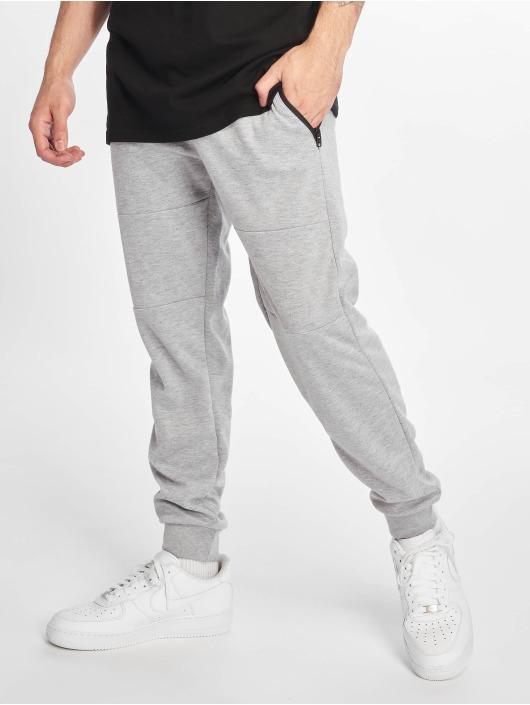 Southpole Pantalone ginnico Basic Tech Fleece grigio