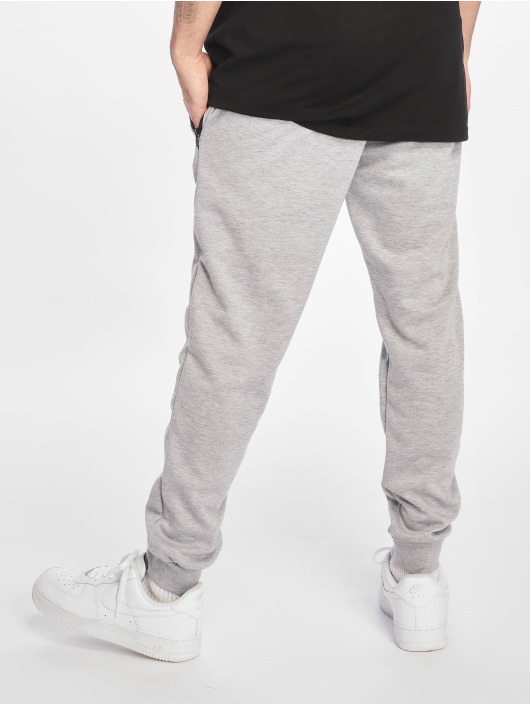 Southpole Pantalone ginnico Basic Tech Fleece grigio