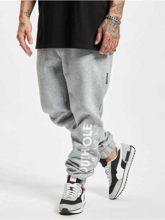 Southpole Pantalone ginnico Basic grigio