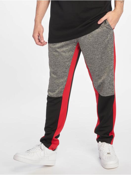 Southpole Pantalone ginnico Color Block Marled nero