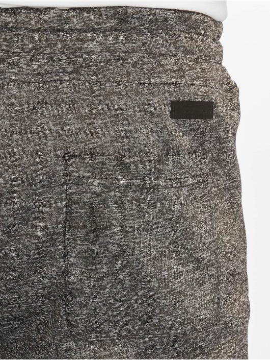 Southpole Pantalone ginnico Zipper Pocket Marled Tech nero