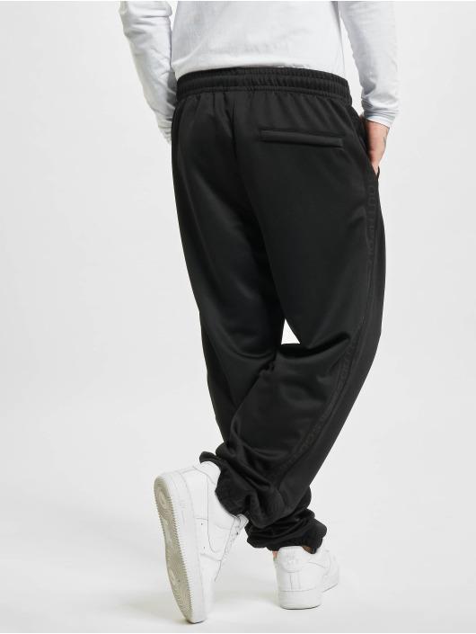 Southpole Pantalone ginnico Tricot With Tape nero