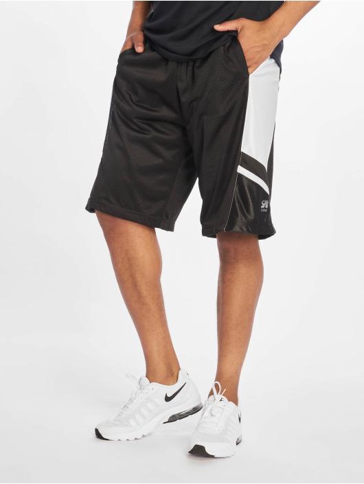Southpole Pantalones cortos de baloncesto Basketball Mesh negro