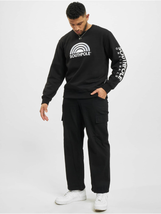 Southpole Pullover 3D black