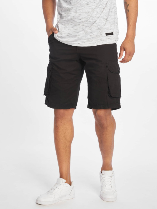 Southpole Short Belted Cargo Ripstop black