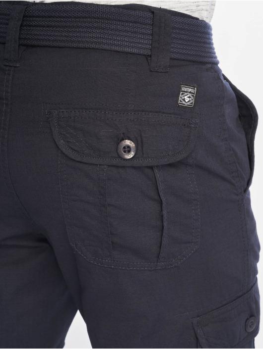 Southpole Short Belted bleu