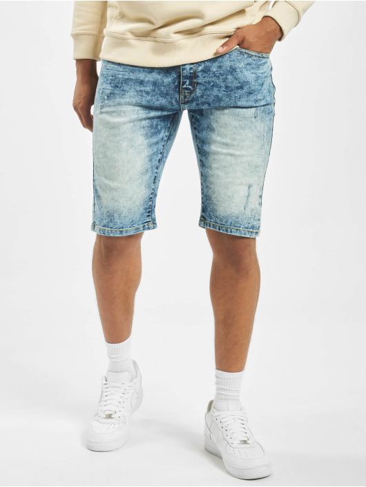 Southpole Short Basic Denim blue