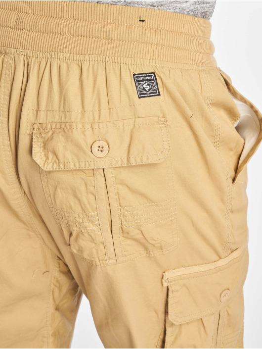 Southpole Short Jogger Cargo Fine Twill kaki