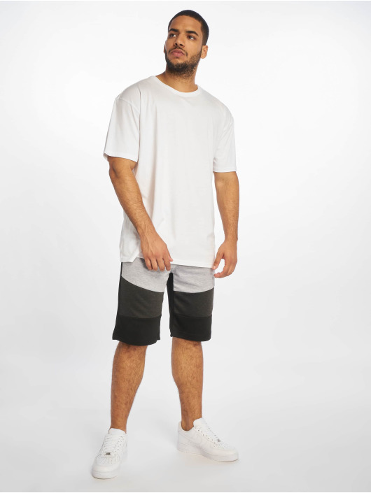 Southpole Short Color Block Tech Fleece noir