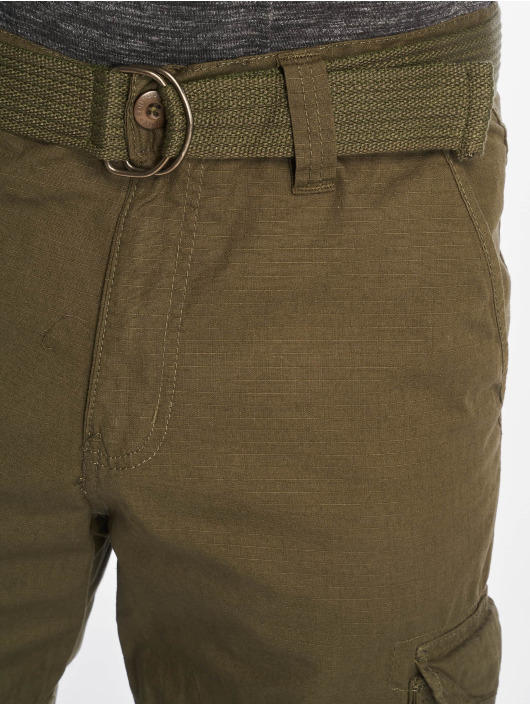 Southpole Short Belted Cargo Ripstop olive