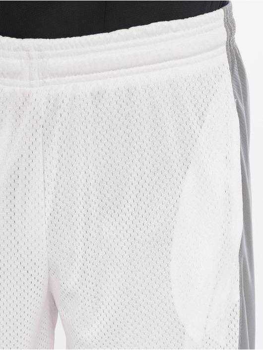 Southpole Shorts Basket Basketball Mesh blanc