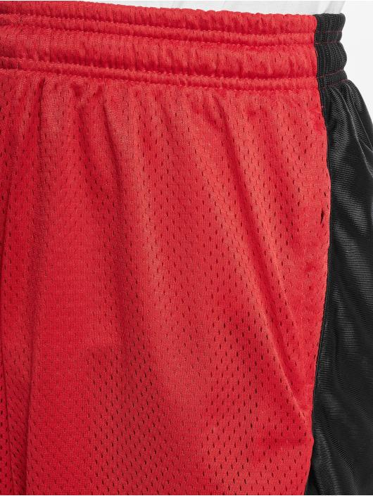 Southpole Shorts Basket Basketball Mesh rouge