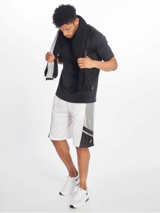 Southpole Shorts Basketball Mesh bianco