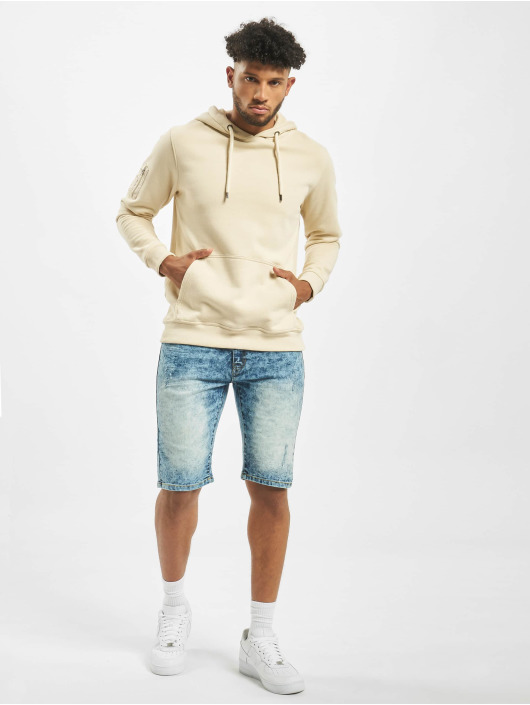 Southpole Shorts Basic Denim blau