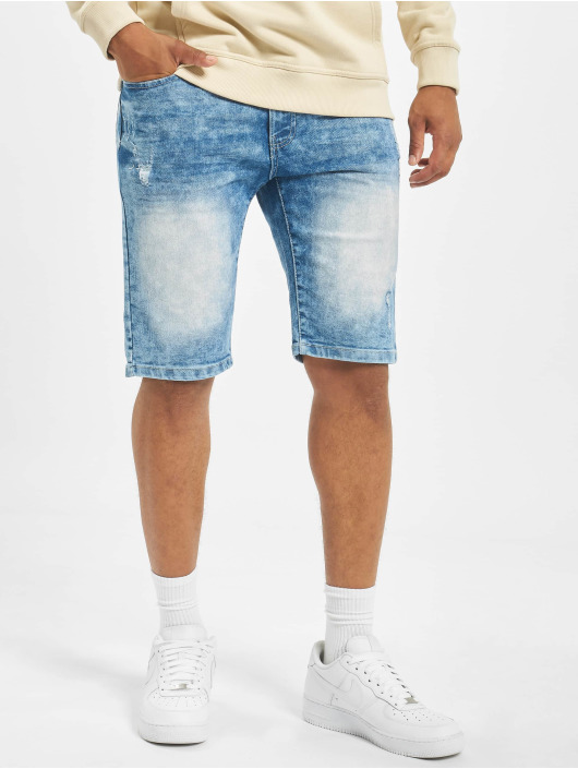 Southpole Shorts Basic Denim blau