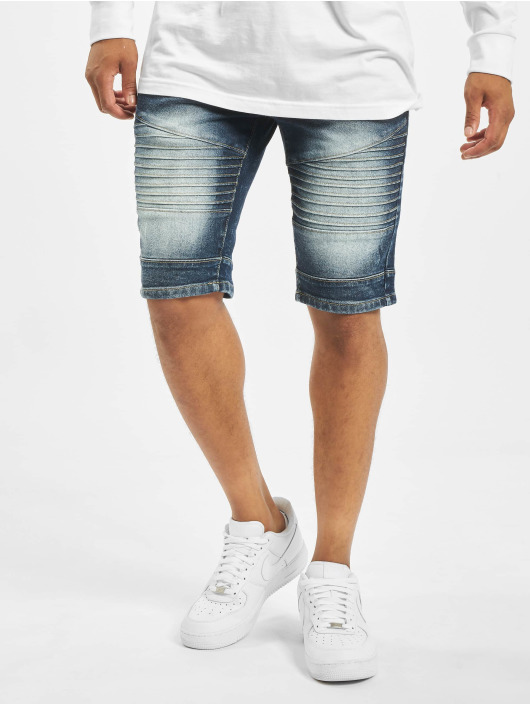 Southpole Shorts Biker blau