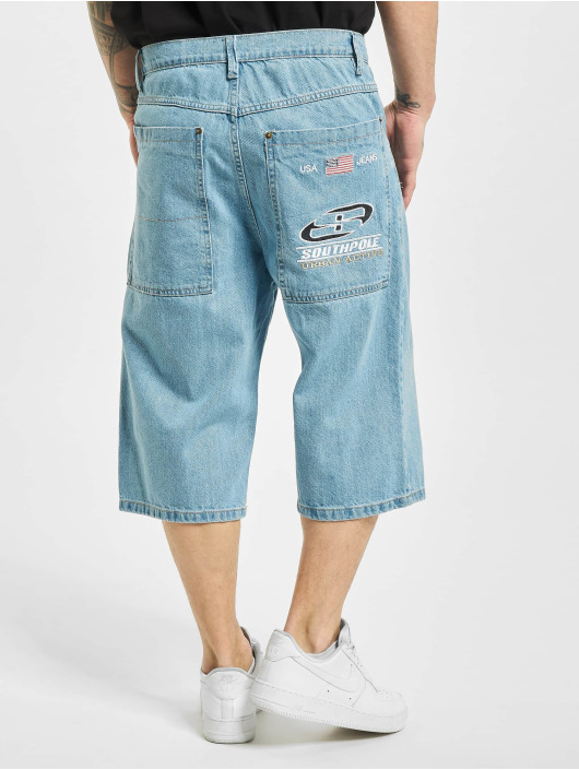 Southpole Shorts Denim blau