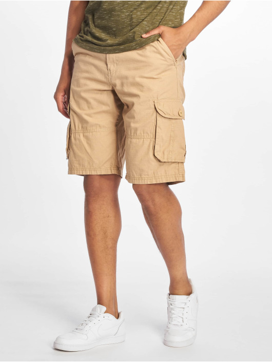 Southpole Shorts Belted Cargo Ripstop cachi