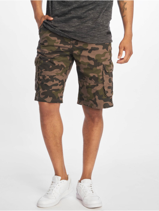 Southpole Shorts Belted Cargo Ripstop camouflage