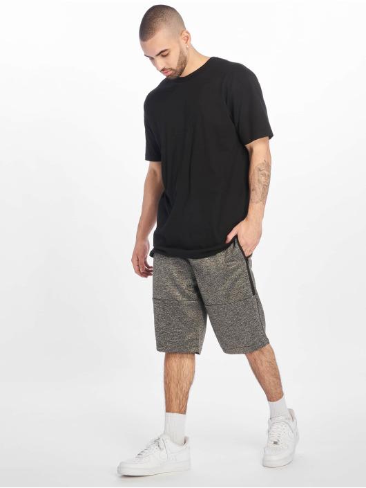 Southpole Shorts Zipper Pocket Marled Tech Fleece grå