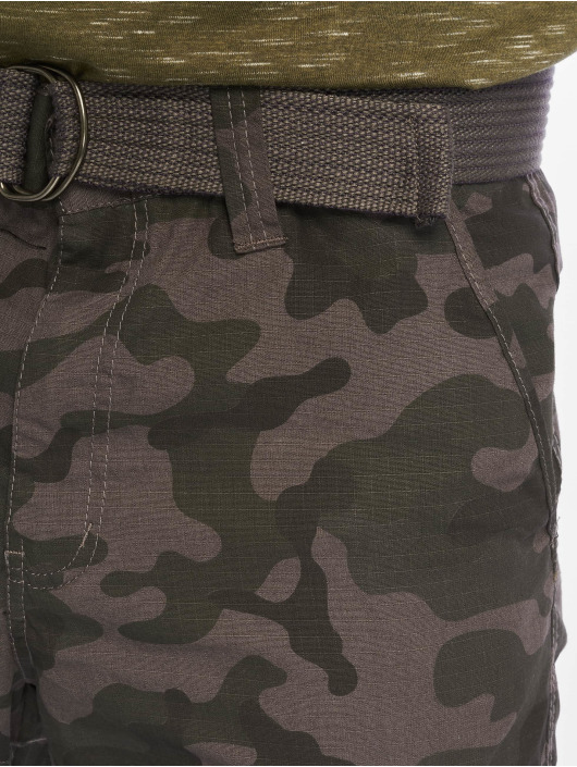 Southpole Shorts Belted grigio