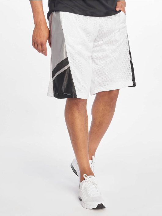 Southpole Shorts Basketball Mesh hvit