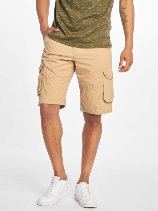Southpole Shorts Belted Cargo Ripstop khaki