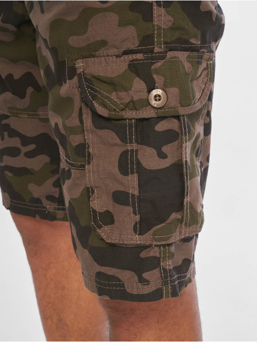 Southpole Shorts Belted Cargo Ripstop mimetico