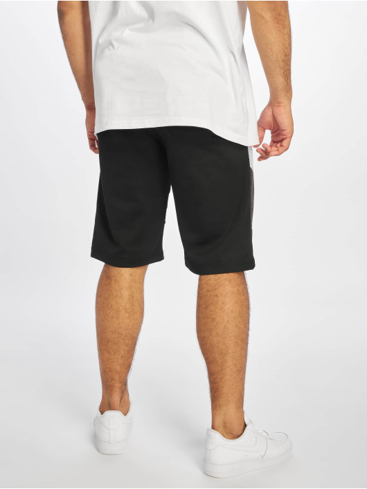 Southpole Shorts Color Block Tech Fleece nero