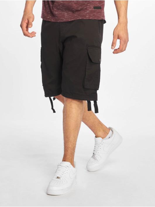Southpole Shorts Jogger Cargo Fine Twill nero