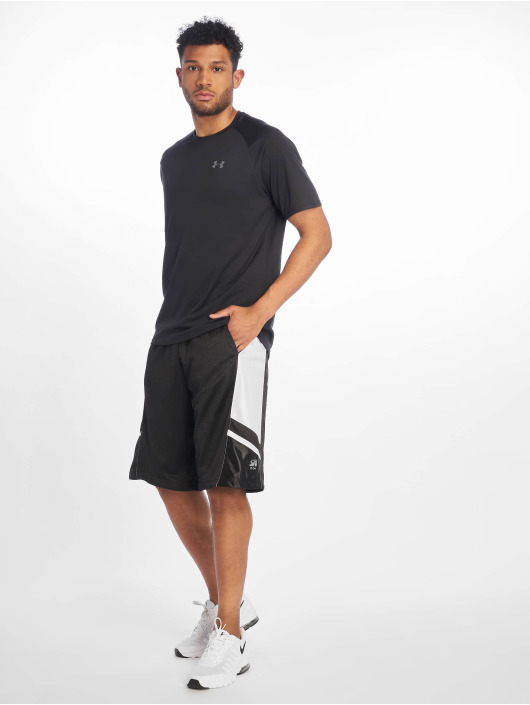 Southpole Shorts Basketball Mesh nero