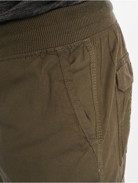 Southpole shorts Jogger Cargo Fine Twill olijfgroen